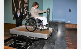 Stadsmuseum neemt vloerlift in gebruik