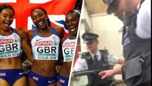 """Europees kampioene atletiek wordt uit auto met zoontje (3 maanden) gesleurd door politie: """"Waarom? Omdat we zwart zijn"""""""