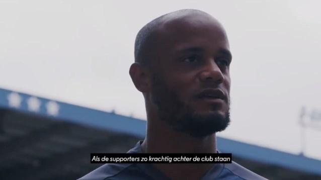 """Vincent Kompany spreekt fans van Anderlecht toe over zijn """"artiesten"""": """"Deze ploeg heeft iets dat anderen niet hebben"""""""