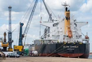 Politie onderschept Colombiaans schip in Gentse haven