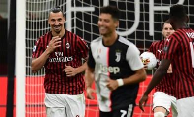 """Zlatan Ibrahimovic streelt zijn eigen ego na stunt tegen Juventus: """"Ik ben voorzitter, speler en trainer in één persoon"""""""