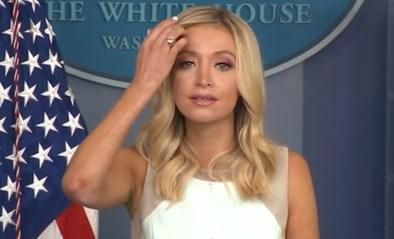 """Woordvoerster van het Witte Huis: """"Ik denk dat de wereld ons ziet als een voorbeeld in de strijd tegen Covid-19"""""""