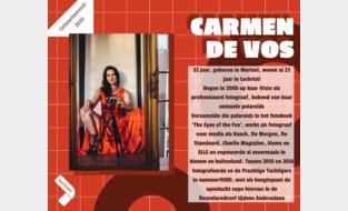 Kies zelf de publieksprijs voor jouw cultuurlaureaat: Carmen De Vos