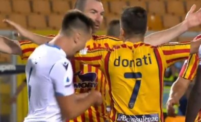 Lazio-speler kent zijn straf voor bijten van tegenstander: schorsing plus boete