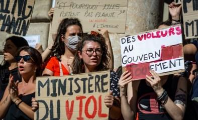 Nieuwe regering-Macron start met valse noot: protest tegen twee 'seksistische' ministers