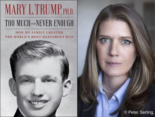 """Mary Trump: """"Trump liet iemand anders zijn toelatingsexamen doen"""""""