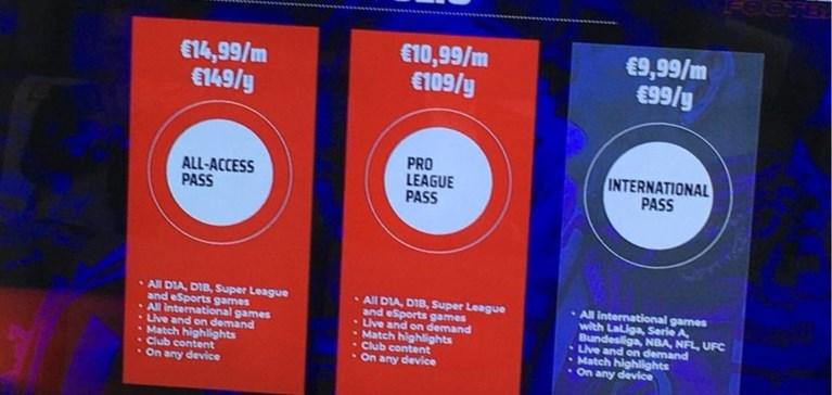 """OVERZICHT. Dit betaalt u voor Belgisch voetbal op Eleven Sports, dat uitpakt met een mobiele studio voor """"XXL-wedstrijden"""""""