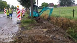 Bom gevonden op gewestweg tussen Hasselt en Diest: verkeer tijdje omgeleid