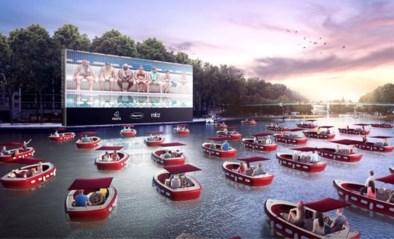 Parijs pakt deze zomer uit met drijvende cinema