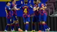 Barcelona blijft met grote moeite in spoor van Real Madrid na nipte derbyzege tegen Espanyol