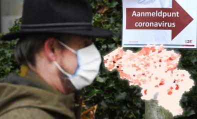 "KAART. Is ons land voorbereid op lokale lockdowns? ""Alarmbellen gingen al af in Wevelgem en Limburg"""