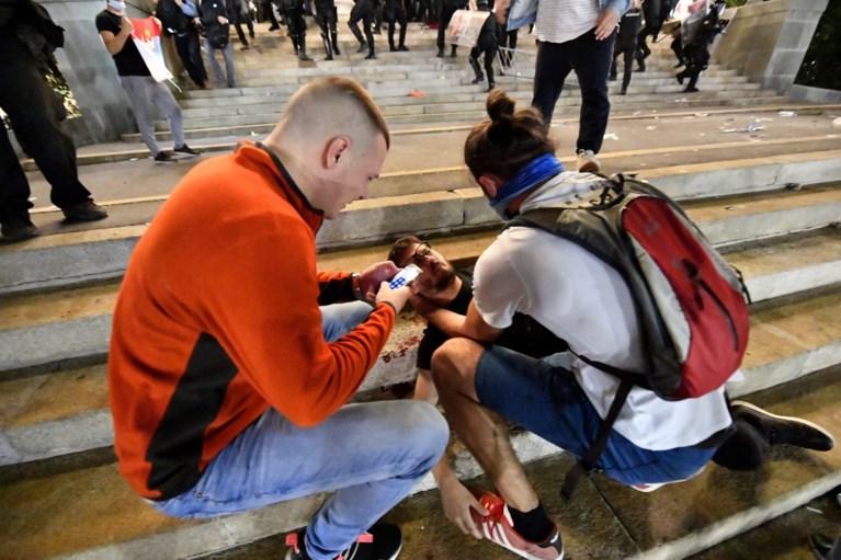 Grimmig protest na aankondiging nieuwe lockdown in Servië