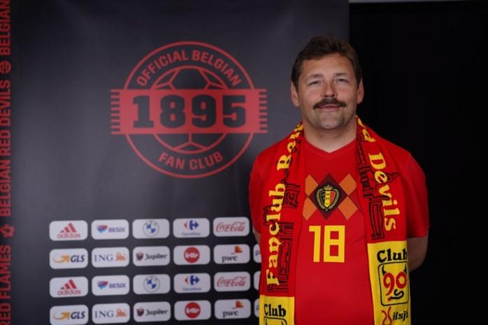 Gijs uit Gentbrugge vertegenwoordigt Oost-Vlaanderen bij dé fanclub van de Rode Duivels