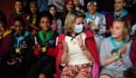 FOTO. Koningin Mathilde op bezoek in De Pinte