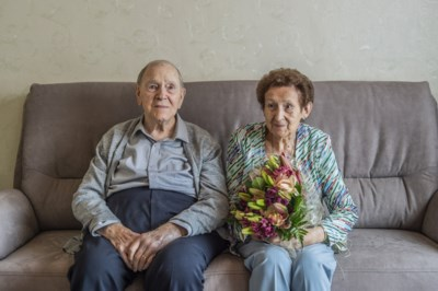 """Leon en Yvonne delen al 70 jaar lang lief en leed, thuis, want """"spreek niet over het rusthuis"""""""