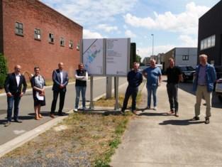 Bedrijventerrein installeert duurzame signalisatieborden