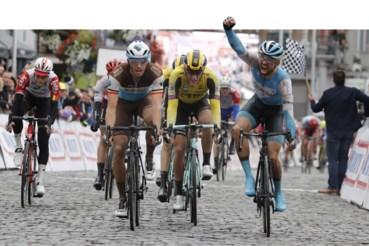 Tom Van Asbroeck won vorig jaar in Binche voor de ploeg uit Israël