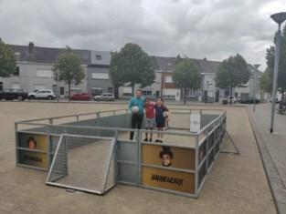 Jonge voetballers kunnen hun kunstjes tonen op pop-up veldjes
