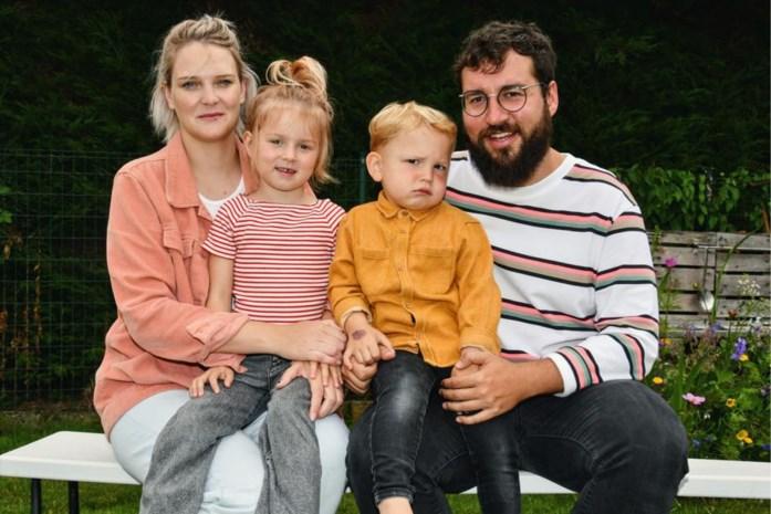 Jong gezin met twee kinderen ontsnapt aan drama