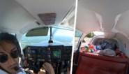 Beangstigende beelden: piloot moet noodlanding maken nadat bagageluik van vliegtuig loskomt