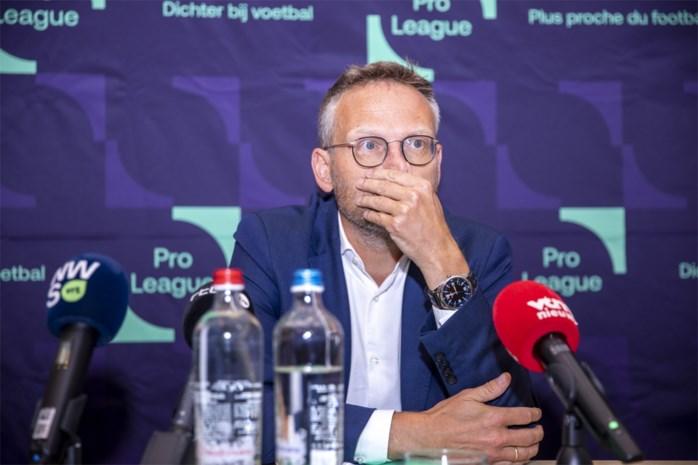 Belgische voetbaltop in crisis: hoe het zover kunnen komen is met de Pro League