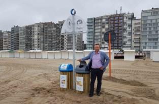 Eerste nieuwe sorteereilanden in gebruik genomen op strand