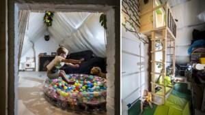 Geen boom, wel een boomhut... op zolder: kijk binnen in het speelparadijs van Suze en Finn