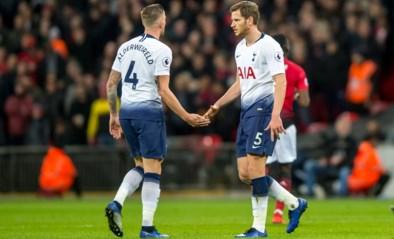 Jan Vertonghen en Toby Alderweireld starten voor het eerst sinds februari nog eens met hun tweetjes achterin bij Tottenham