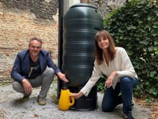 """Regen zoekt ton: """"Mechelaars met een tuin kunnen mee het verschil maken om water te sparen"""""""