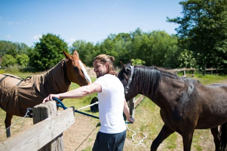"""Hoe zou het nog zijn met voetballer Davy De Beule? """"De stallen van ons paardenhotel uitmesten, doe ik zonder morren"""""""