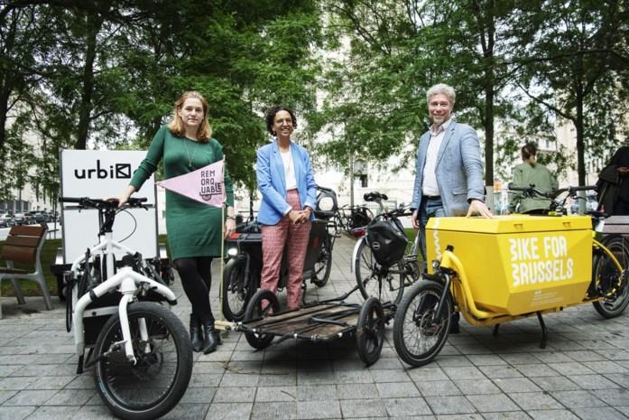 Brussels Gewest zet bakfietsen in voor betere luchtkwaliteit