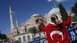 Erdogan zet deuren van Hagia Sophia open voor islamitische erediensten