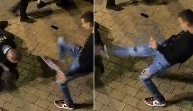 'Hoofdschopper' geeft agent trap tijdens rellen in uitgaansbuurt Knokke-Heist, politie zoekt dader