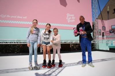 De fifties landen in Knokke-Heist: retro rollerskatepiste neemt swingende start