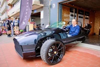 Koop eens een vintage motor... op drie wielen: Vanderhall opent pop-up in Knokke-Heist