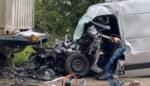 Vijftiger zwaargewond na aanrijding met vrachtwagen in Bilzen