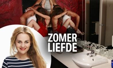 Zo begon de affaire tussen Stef en Valérie: een dronken nummertje op het toilet