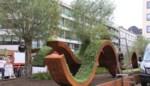 Team Daniël Ost versiert centrumstraten met monumentale stukken