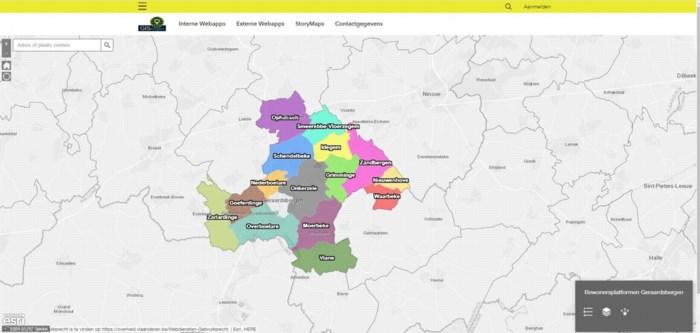 Website GISbergen bundelt geografische info