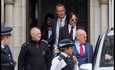 Vliegende champagneflessen en discussie over wie uitwerpselen achterliet in bed: Johnny Depp zes uur ondervraagd over 'mishandeling' Amber Heard