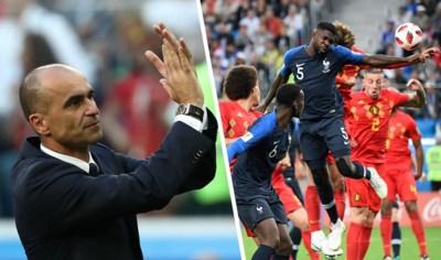 """Onze Chef voetbal kijkt samen met bondscoach Roberto Martinez terug naar WK-nederlaag tegen Frankrijk: """"Spijt? We maakten geen enkele fout"""""""