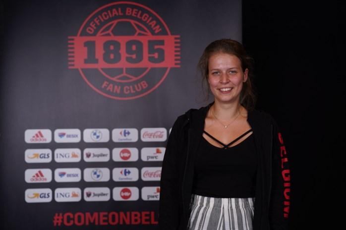 Enja Van Rillaer eerste vrouw in supportersfederatie Rode Duivels en Red Flames