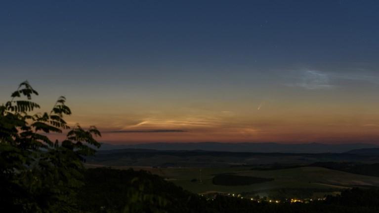 Komeet Neowise zichtbaar met het blote oog, al moet je er wel de wekker voor zetten
