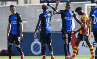 Club Brugge wint met ruime cijfers van KV Mechelen: Okereke goed voor twee goals en assist, Dennis maakt comeback