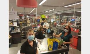 Mondmaskers meteen algemeen aanvaard. Winkels ervaren geen problemen bij klanten