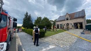 Brand in Hoeseltse garage, oorzaak nog onbekend