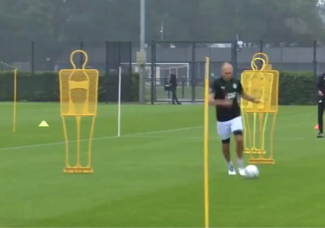 """Arjen Robben (36) werkt zich in het zweet bij FC Groningen: """"Work in progress"""""""