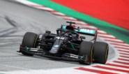 Lewis Hamilton domineert GP van Stiermarken, beide Ferrari's rijden elkaar opnieuw uit de race