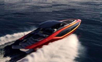 Lamborghini ontwerpt racewagen voor op zee: superjacht kost 3 miljoen euro