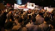Duizenden betogers in Tel-Aviv tegen coronamaatregelen van Israëlische regering